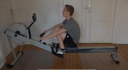 Ruder Training Concept 2 Rudergerät