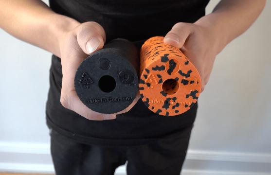 Blackroll Mini vs Blackroll Orange mini