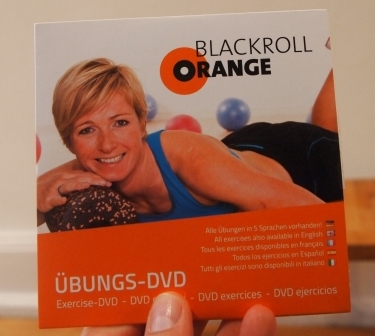 Faszientraining DVD Blackroll Orange