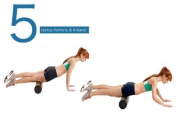 Schaumstoffrolle Massagerolle mit Punkt Triggerzonen für tiefwirksame Massage Reha / Physiotherapie -