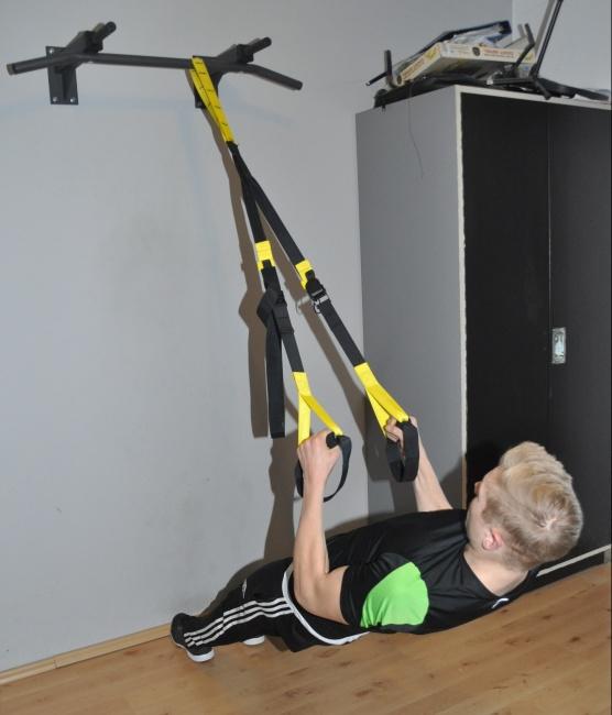 Rücken Training mit trx eng
