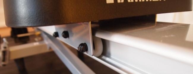 Hammer Rudergerät Sitz