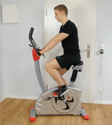 Training christopeit ergometer et 6