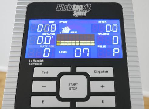 ergometer christopeit et 6 computer
