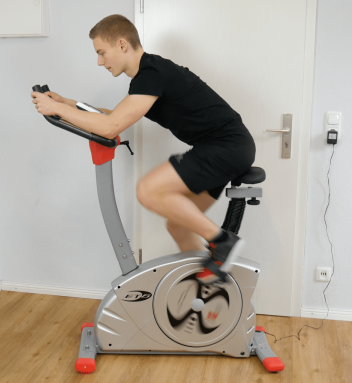 training christopeit et 6 ergometer