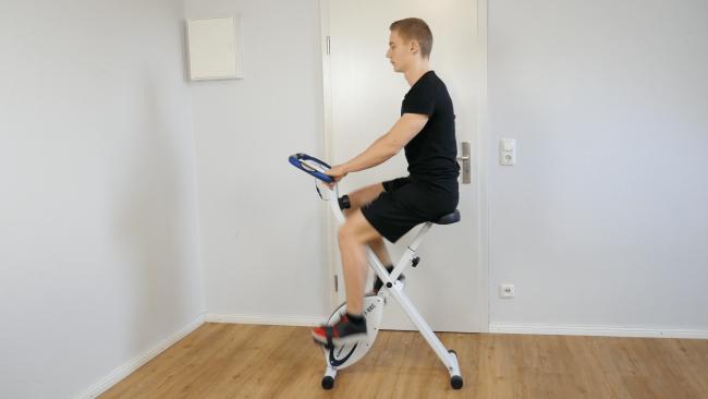 ultrasport f-bike heimtrainer fahrrad