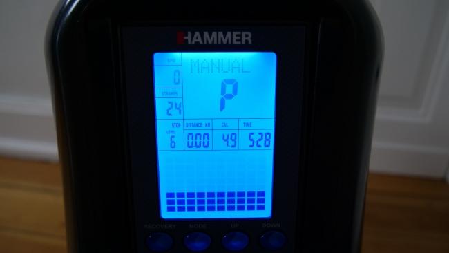 Hammer Rudergerät cobra xtr computer