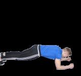 Sport Zu Hause- Planke