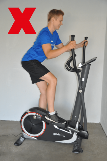 Crosstrainer training technik