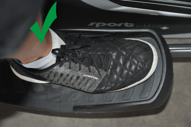 Crosstrainer technik Training