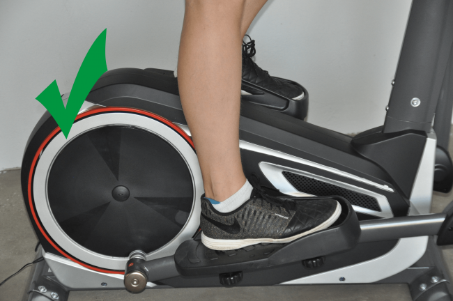 Crosstrainer Training Ferse