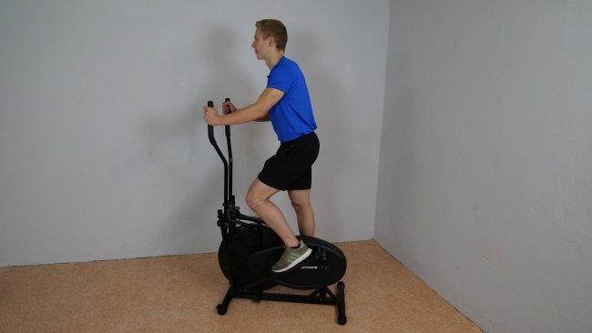 Ultrasport crosstrainer ellipsentrainer x-bike