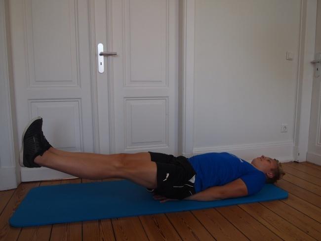 fitnessübung für zuhause