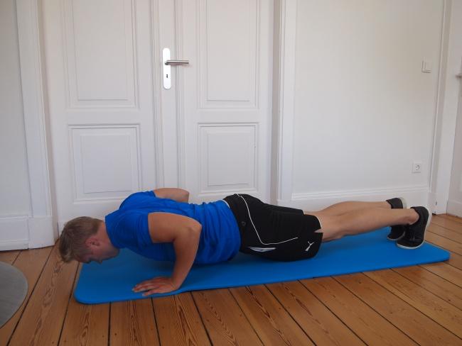 liegestütz fitness zuhause