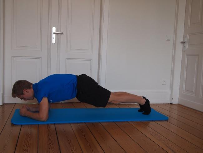 plank - Körperspannung