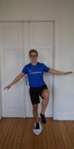 Knie Stabilisationsübung