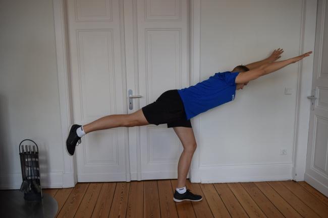 Stretching- Standwage