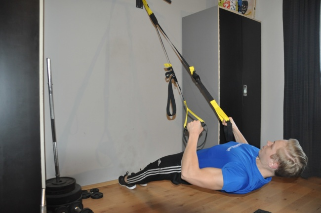 Rudern am Trx - funktionelles training