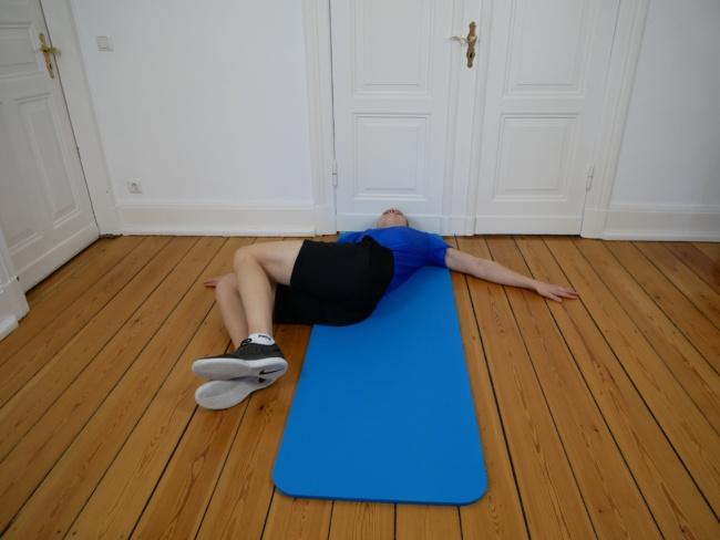 Gymnastik Übung dreher