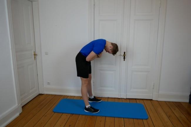 Gymnastik Übung jefferson curl