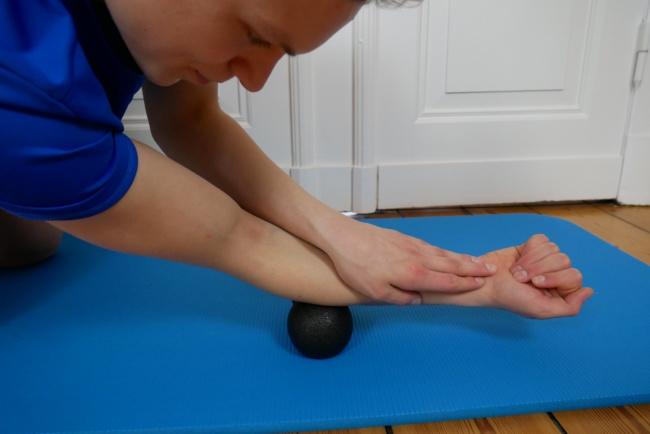 Tennisarm übung massage
