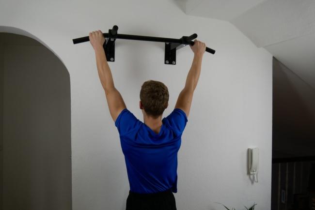 griffkraft trainieren hängen