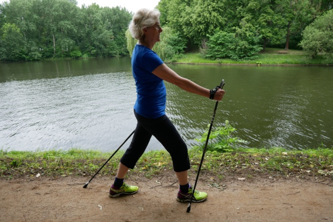 nordic walking passgang