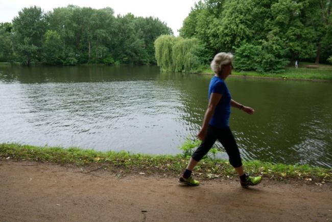 uebung 1 nordic walking lernen