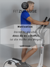 Fitness Motivation Zitat