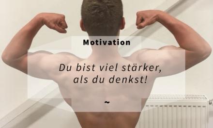 Fitness Motivation: Mit diesen 18 Tipps wirst du in Zukunft nur so voller Sport Motivation strotzen!