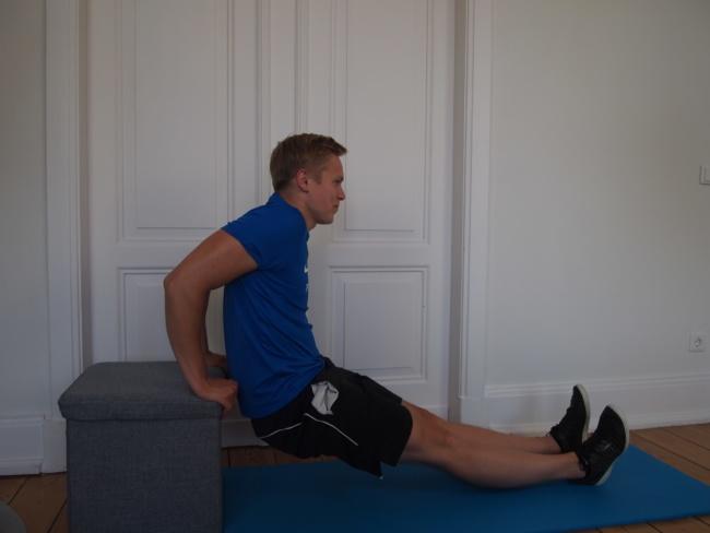 Fitnessübung ohne Geräte