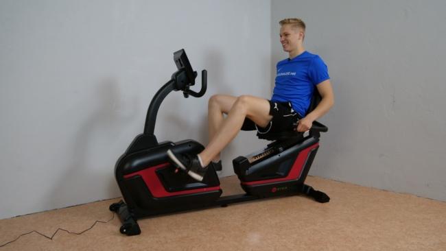 Heimtrainer Fahrrad asviva r7 1