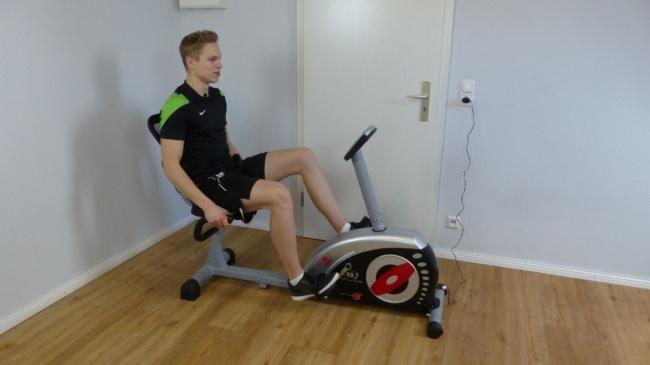 Heimtrainer Fahrrad christoepit rs2