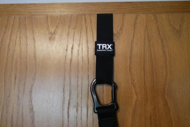 TrX schlingentrainer befestigung tuer