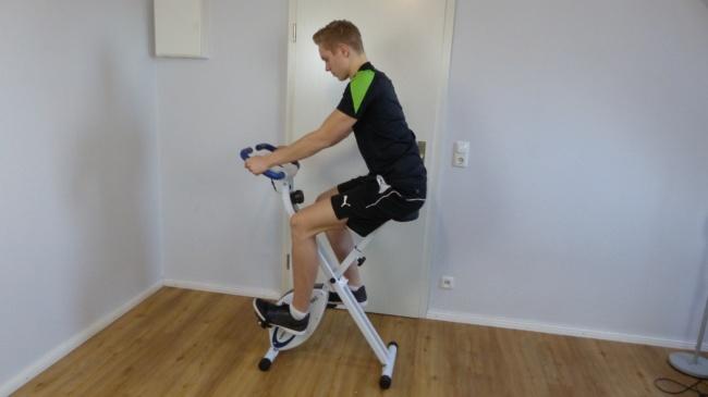 hometrainer fahrrad f-bike