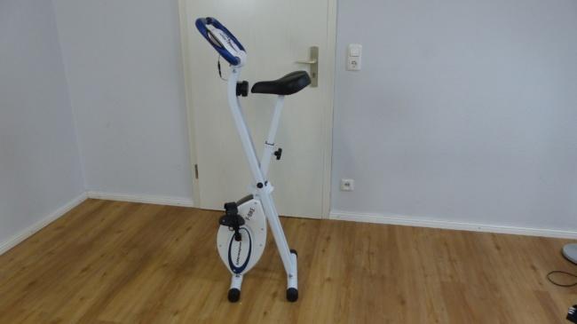 hometrainer fahrrad f-bike klappbar 2