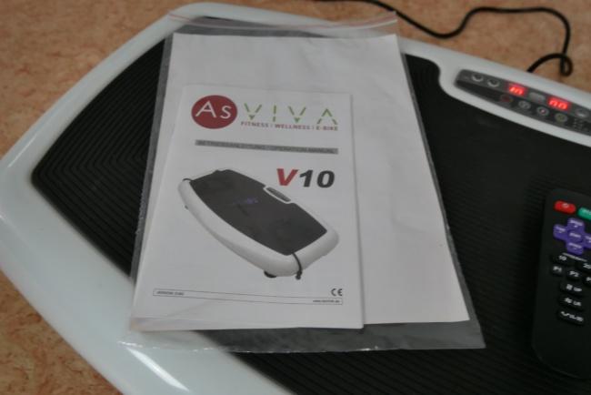 asviva vibrationsplatte v10 anleitung