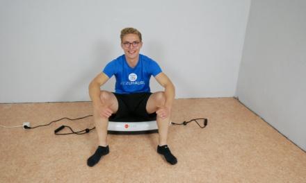 "Die ""AsViva V10 Vibrationsplatte"" im Test"