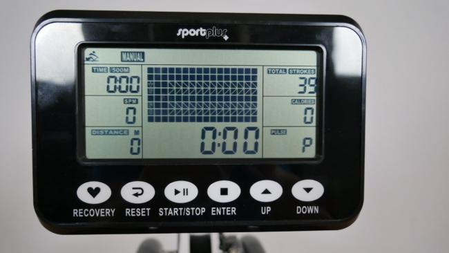 Sportplus Rudergerät SP-MR-011 computer