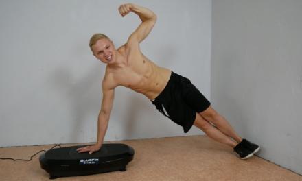 Bluefin Vibrationsplatte – Nie mehr beim Training blau machen