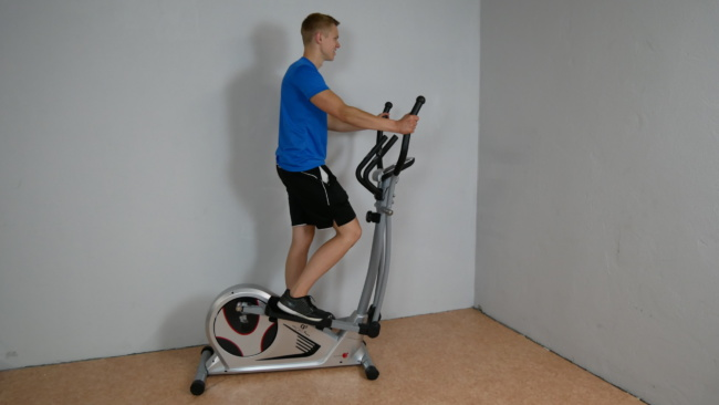 christopeit crosstrainer cs 5 training