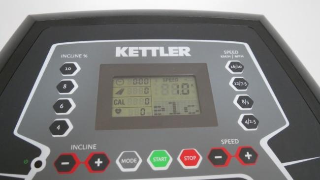 Kettler Laufband Sprinter 5 computer