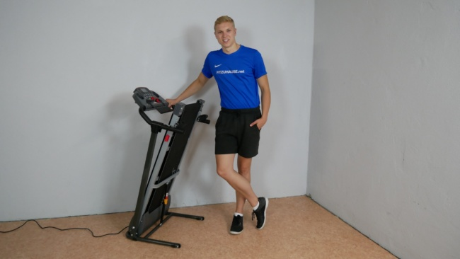 Sportstech Laufband f10 klappbar