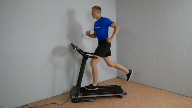 Sportstech Laufband f10 laufen