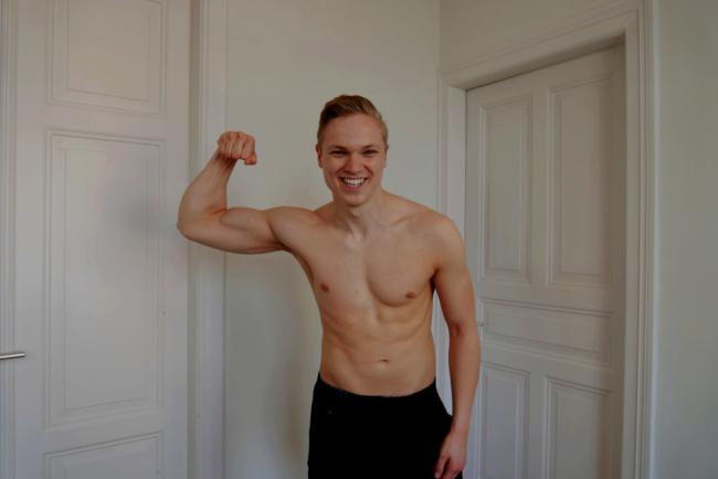 Abnehmen durch Sport mit Muskeln