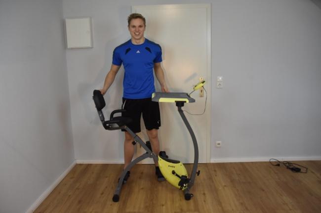 Intey Heimtrainer klappbar