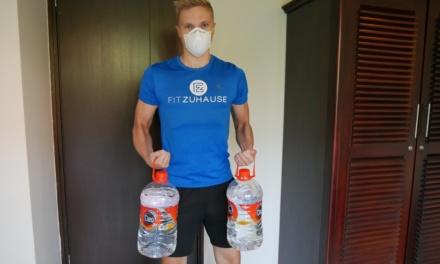 Coronavirus schließt Fitnessstudios – Unser Quarantäne Workout zuhause
