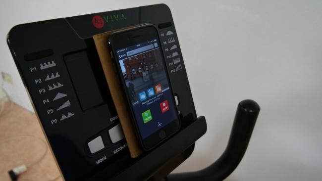 AsViva r7 Liegeergometer computer