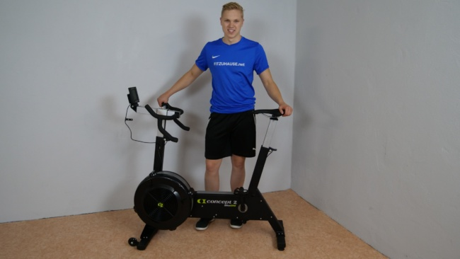 Fitness Fahrrad Test