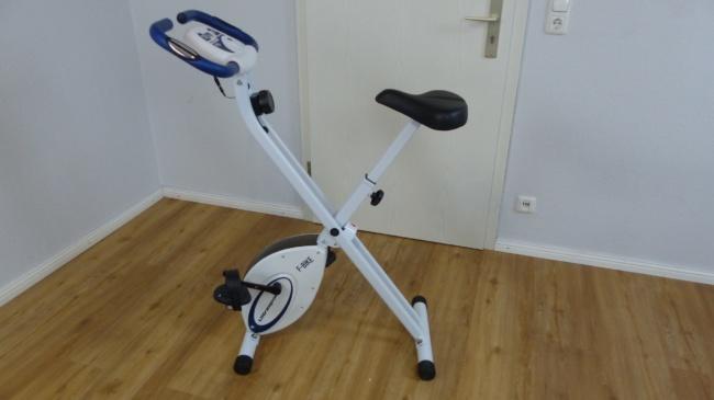 Hometrainer Fahrrad Test